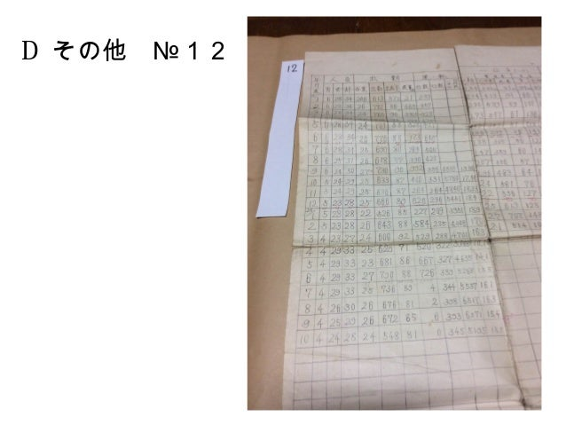 D その他 №12