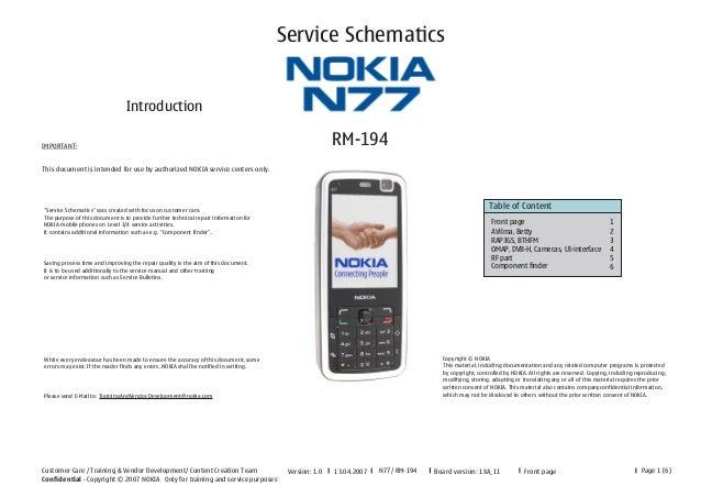 Service Schematics                                 IntroductionIMPORTANT:                                                 ...