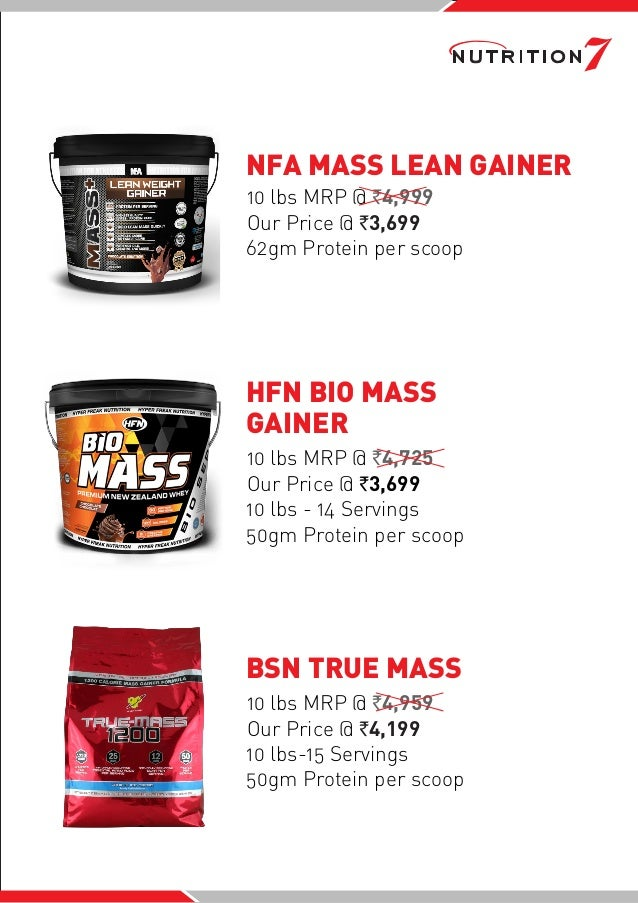Nutrition7 - Mega sale 5th - 15th-Feb 2018