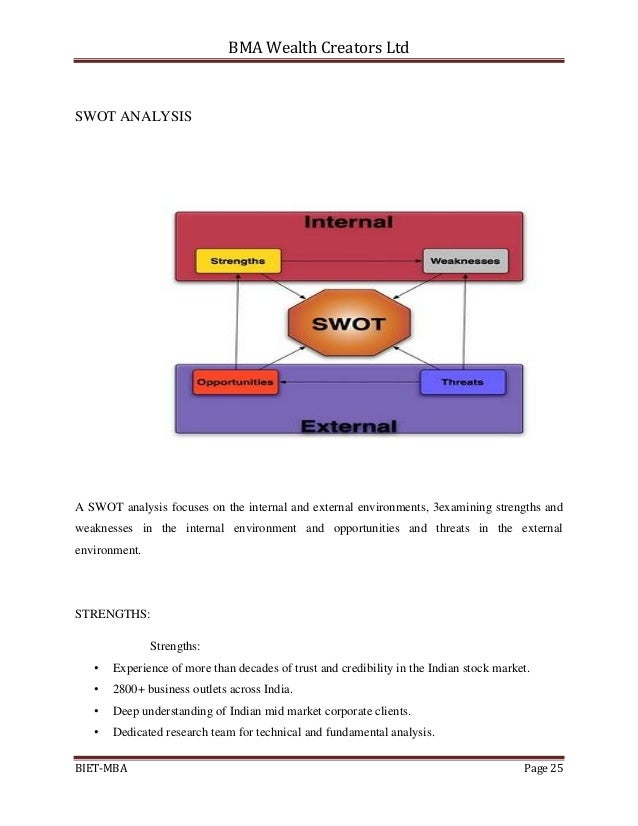swot analysis on bombay stock exchange Listed on india's premier stock exchange, the bombay stock exchange utv the table above concludes the utv software communications ltd swot analysis along.