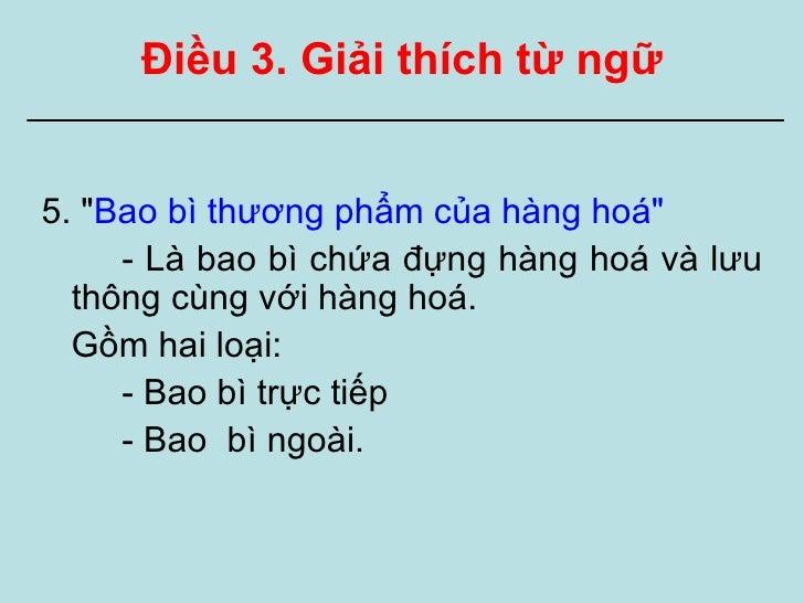 Nđ 89 Ve Nhan Hang Hoa