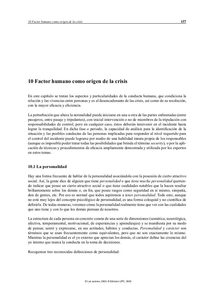 10 Factor humano como origen de la crisis                                                            15710 Factor humano c...