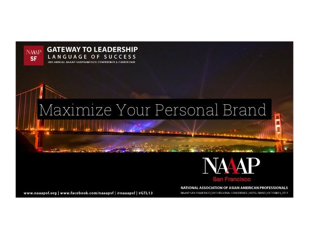 Maximize Your Personal Brand