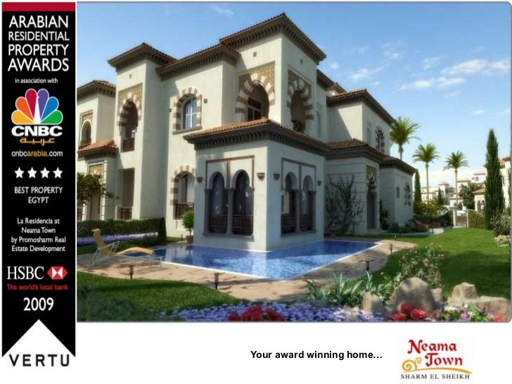 Your award winning home…<br />