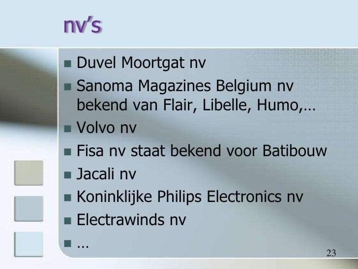 Naamloze vennootschap charlotte lesaffre 1 baf a for Sanoma magazines belgium