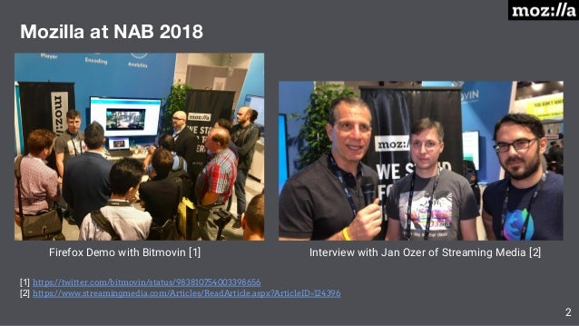 NAB 2019 Latest Technical and Business Progress with AV1