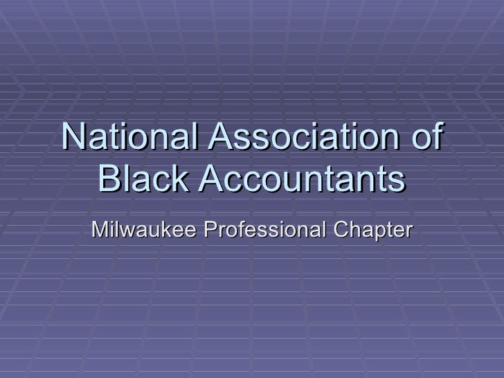 National Association of Black Accountants Milwaukee Professional Chapter