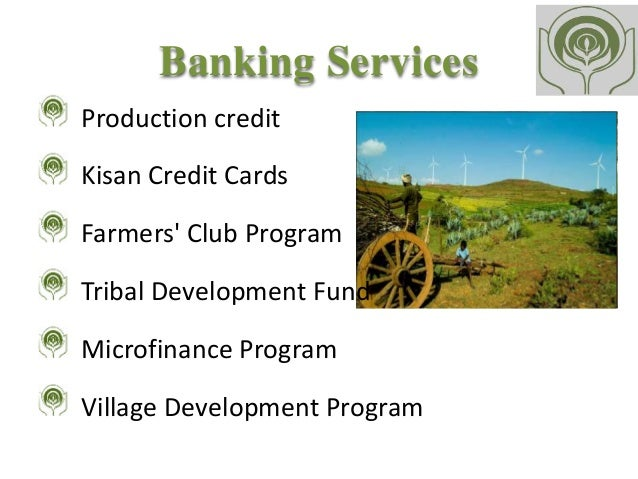 Research paper kisan credit card