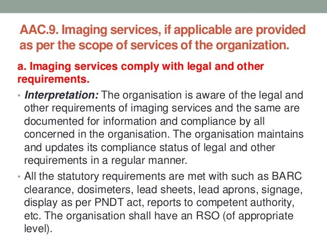 LEGAL & OTHER REQUIREMENTS • Safe disposal of radioactive waste rules 1987 • Radiation surveillance procedure-1989 • Safet...