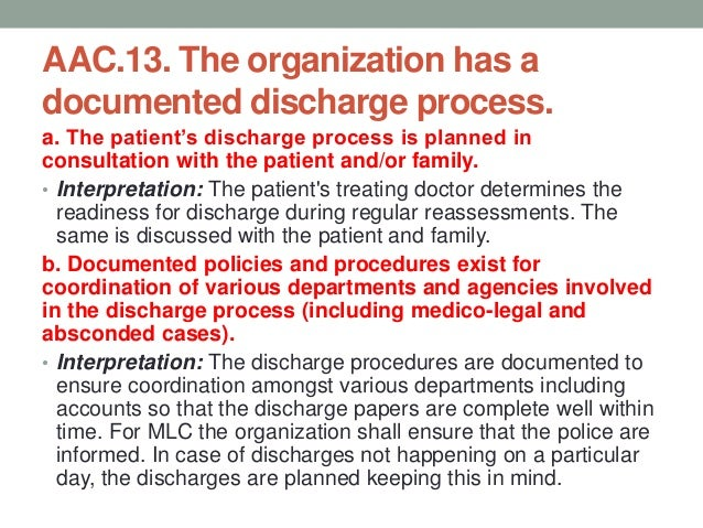 Discharge Process & Discharge Summary  Discharge planning start at the time of admission Prescription should be written ...