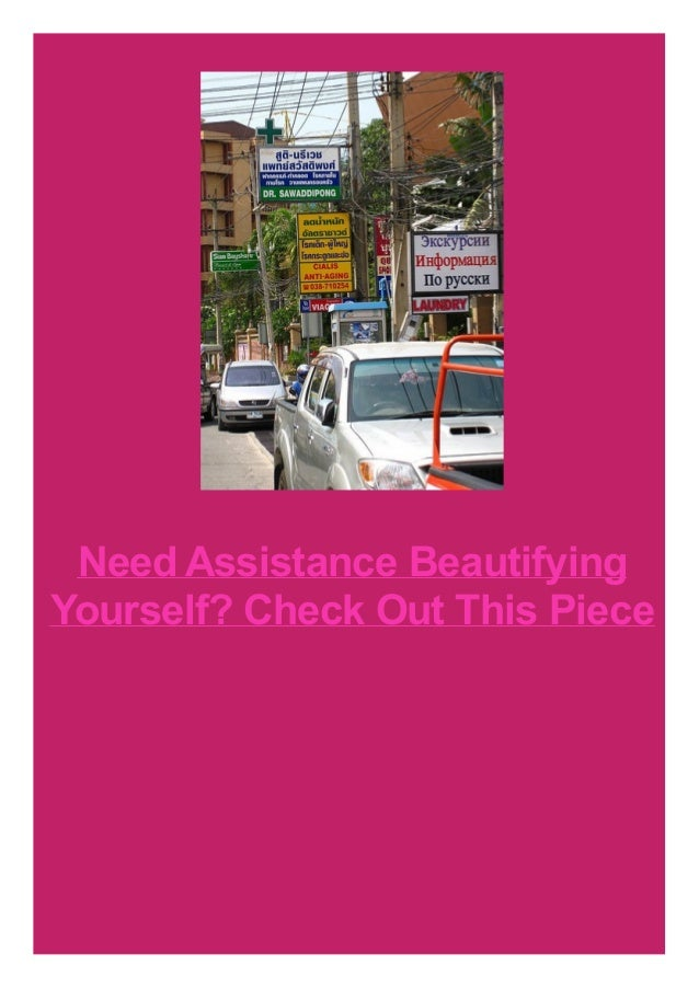 Need Assistance Beautifying Yourself? Check Out This Piece