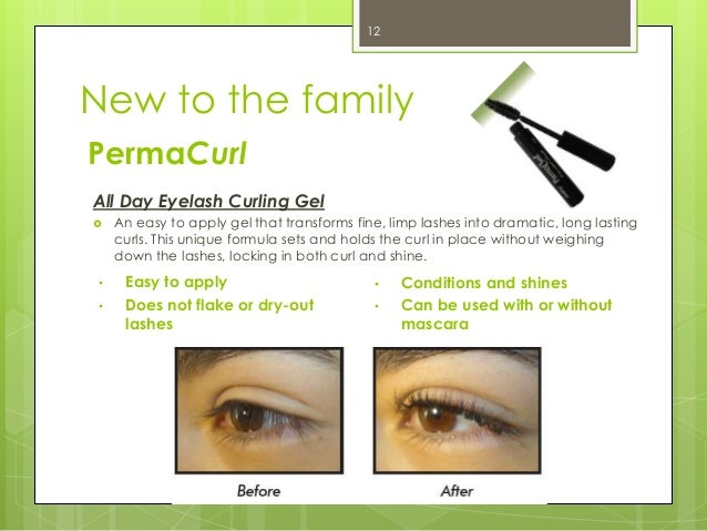 2c699ee4977 ... 12. 12 New to the family PermaCurl All Day Eyelash Curling Gel ...