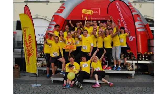 Firmenlauf in Aue: Niederlassung Guteborn erreicht Top-Ergebnisse