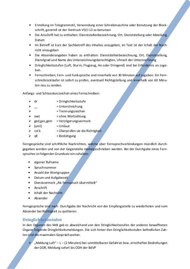 •   Erstellung im Telegrammstil, Verwendung einer Schreibmaschine oder Benutzung der Block-        schrift, generell ist d...