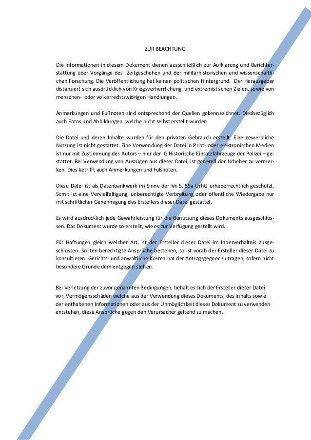 ZUR BEACHTUNGDie Informationen in diesem Dokument dienen ausschließlich zur Aufklärung und Berichter-stattung über Vorgäng...