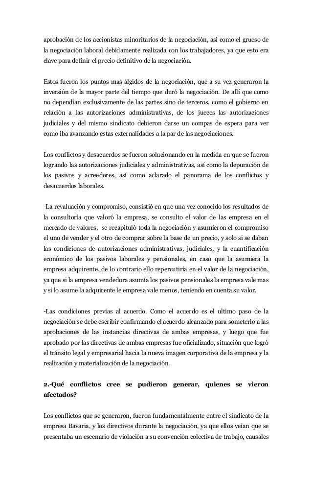 Nación. ensayo sobre la negociación de bavaria s.a  sab-miller inocencio meléndez julio Slide 3