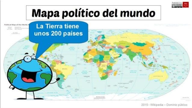 Países y nacionalidades del mundo (e hispanas) Slide 2