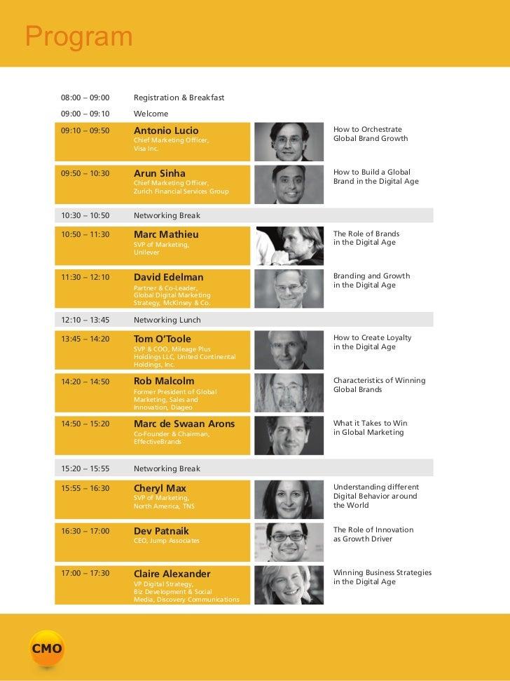 Program  08:00 – 09:00   Registration & Breakfast  09:00 – 09:10   Welcome  09:10 – 09:50   Antonio Lucio                 ...