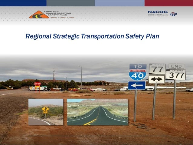 Regional Strategic Transportation Safety Plan
