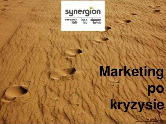 Marketing po kryzysie