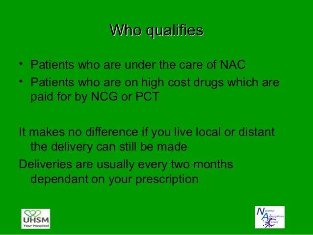 Advantages/disadvantages• Advantages:  – Reduces the amount of visits for patients  – Reduces travel for patients who live...