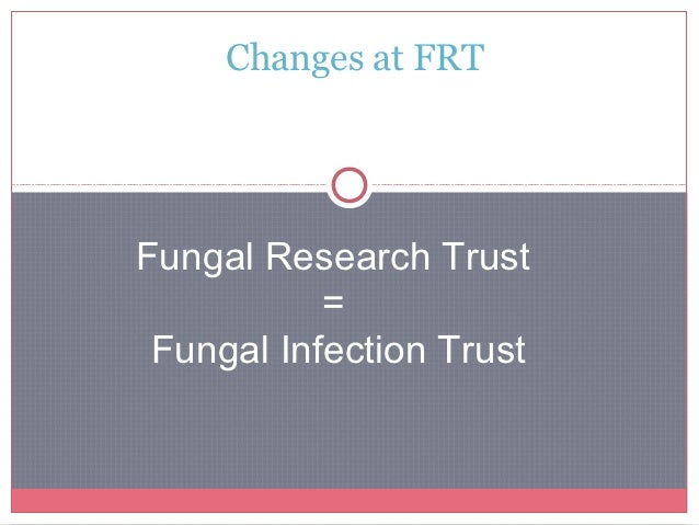 FRT is changing its name to FITWhy?•FIT will continue to fund research exactly as FRT wasalways very successful at doing•F...