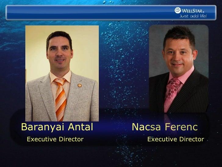 Baranyai Antal  Nacsa Ferenc   Executive Director   Executive Director