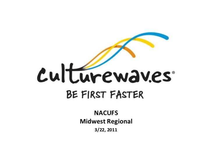 NACUFS  Midwest Regional       3/22, 2011