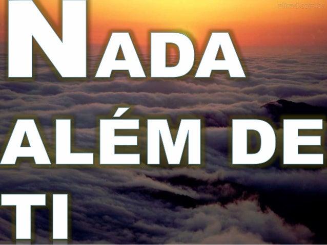 NADA  ALÉM DE 1'¡