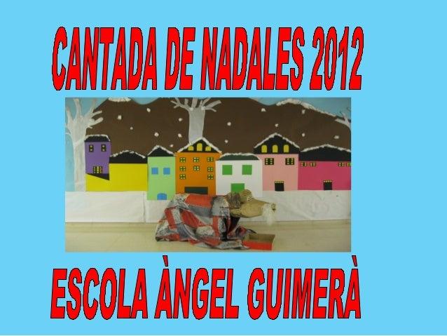 """ALUMNES P3""""La campaneta""""    nit de nadal"""""""
