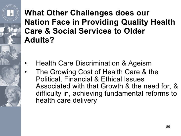 Social work with older adults and