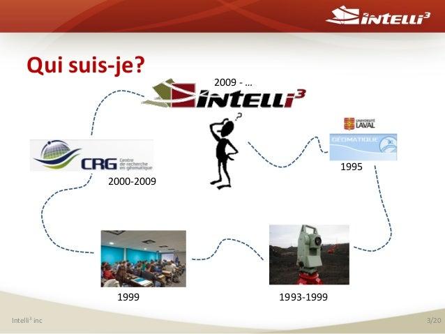 Qui  suis-‐je?    2009  -‐  …        1995   2000-‐2009    1999   Intelli3  inc    1993-‐1999  ...