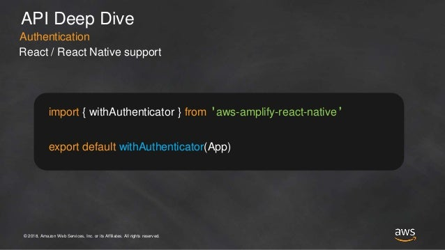 Building Mobile Apps with AWS Amplify - Nader Dabit