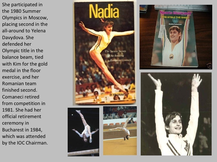 She participated in the 1980 Summer Olympics in Moscow, placing second in the all-around to Yelena Davydova. She defended ...