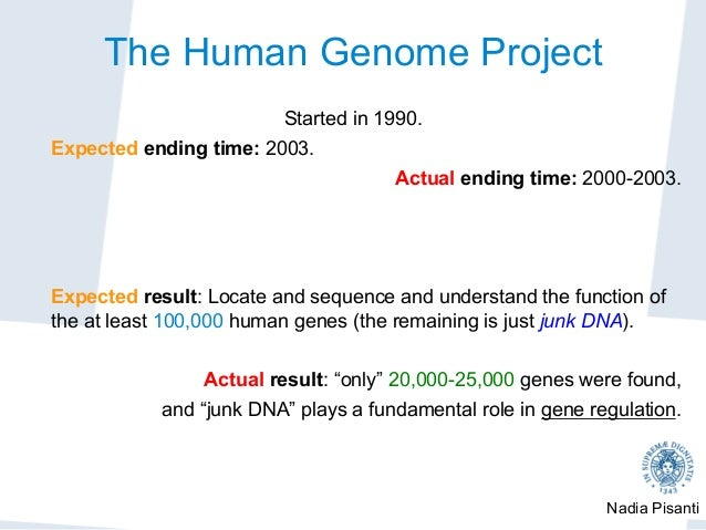 an analysis of the significance of the human genome project 1 meaning of human genome project: the human genome project (hgp) is an international collaborative research programme which started in 1990 and completed in 2003, whose goal was the complete mapping and understanding of the three billion dna subunits (bases), and to identify all human genes, making them accessible for further biological study.