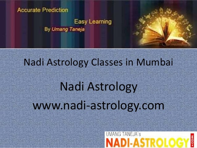 Nadi astrology classes in mumbai