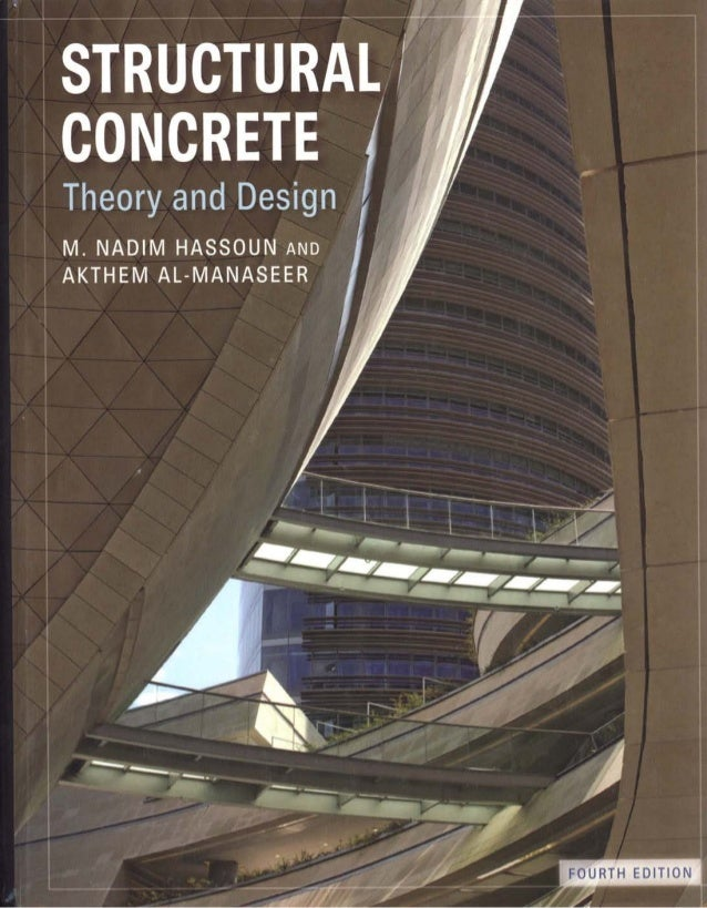Structural Concrete Theory And Design Th Edition Pdf