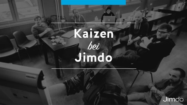Kaizen bei  Jimdo