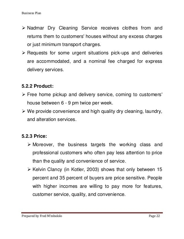 Free dry cleaning business plan how to write press kit