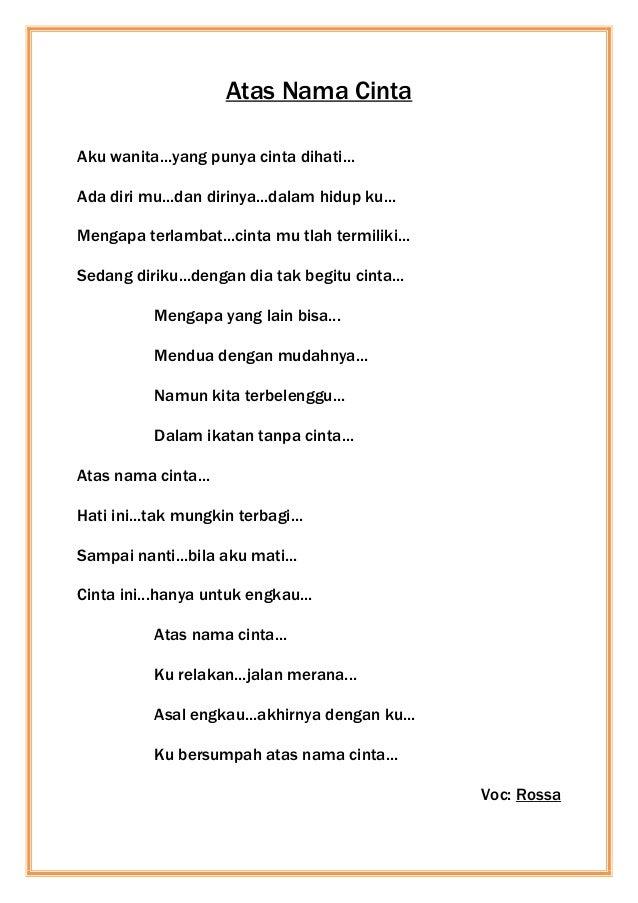 Nadya E Putri Lagu Indonesia
