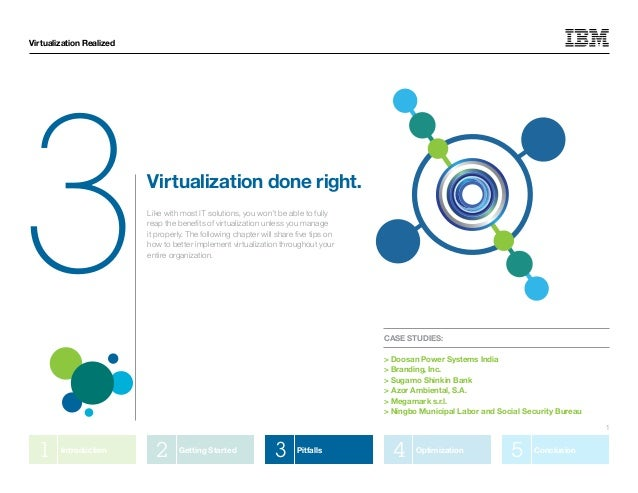 Virtualization Realized3                         Virtualization done right.                          Like with most IT sol...