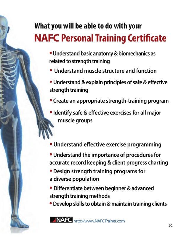 Nafc Certification Recent Wholesale