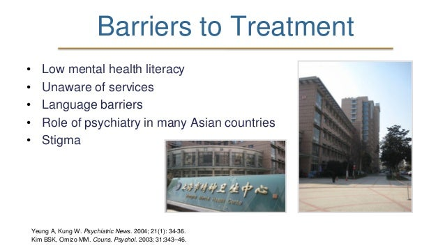Exploring Mental Health Awareness And Obstacles Among Chinese Interna