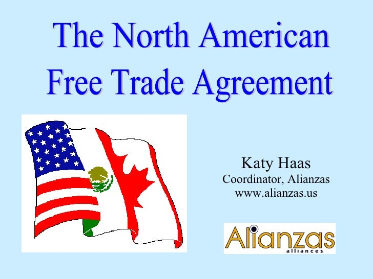 north american free trade agreement nafta pdf
