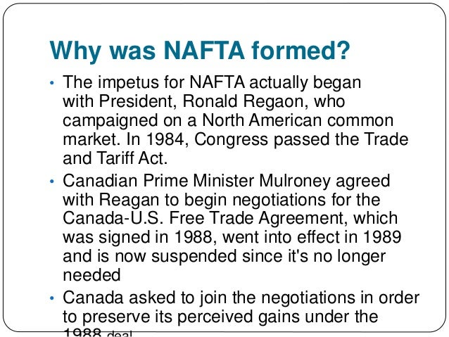 """the specific objectives of the north american free trade agreement The united states will lobby for changes to the investor-state dispute settlement (""""isds"""") provisions of the north american free trade agreement (""""nafta"""") in the upcoming discussions to."""