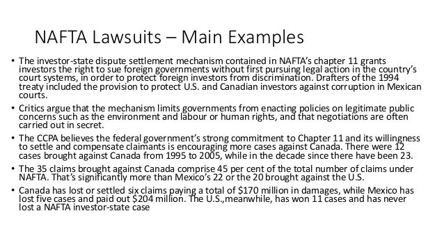and then came nafta The north american free trade agreement (nafta  the agreement came into force on january 1,  nafta then replaced the previous canada-us fta.