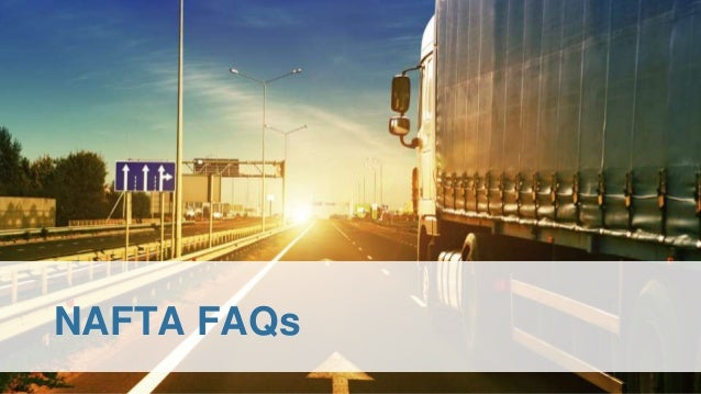 NAFTA FAQs