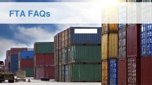 FTA FAQs