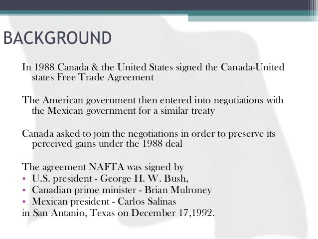 nafta history final From day one, president donald trump has imposed his will on talks to overhaul the north american free trade agreement but as his administration tries to seal the deal, it's not clear he holds .