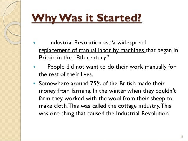 the industrial revolution 7 essay Industrial revolution describes the period between 1750 and 1850, in which tremendous changes characterized by developments in textile, iron were realized the revolution was spearheaded by britain.